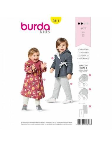 BURDA kids 9311